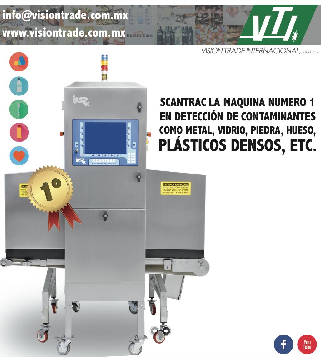 scatrac detector de metales y particulas extrañas