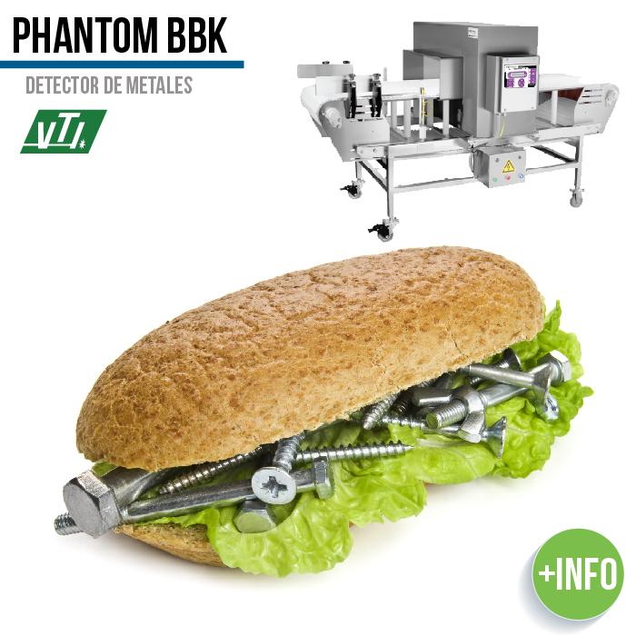 detector de metales industria alimentaria