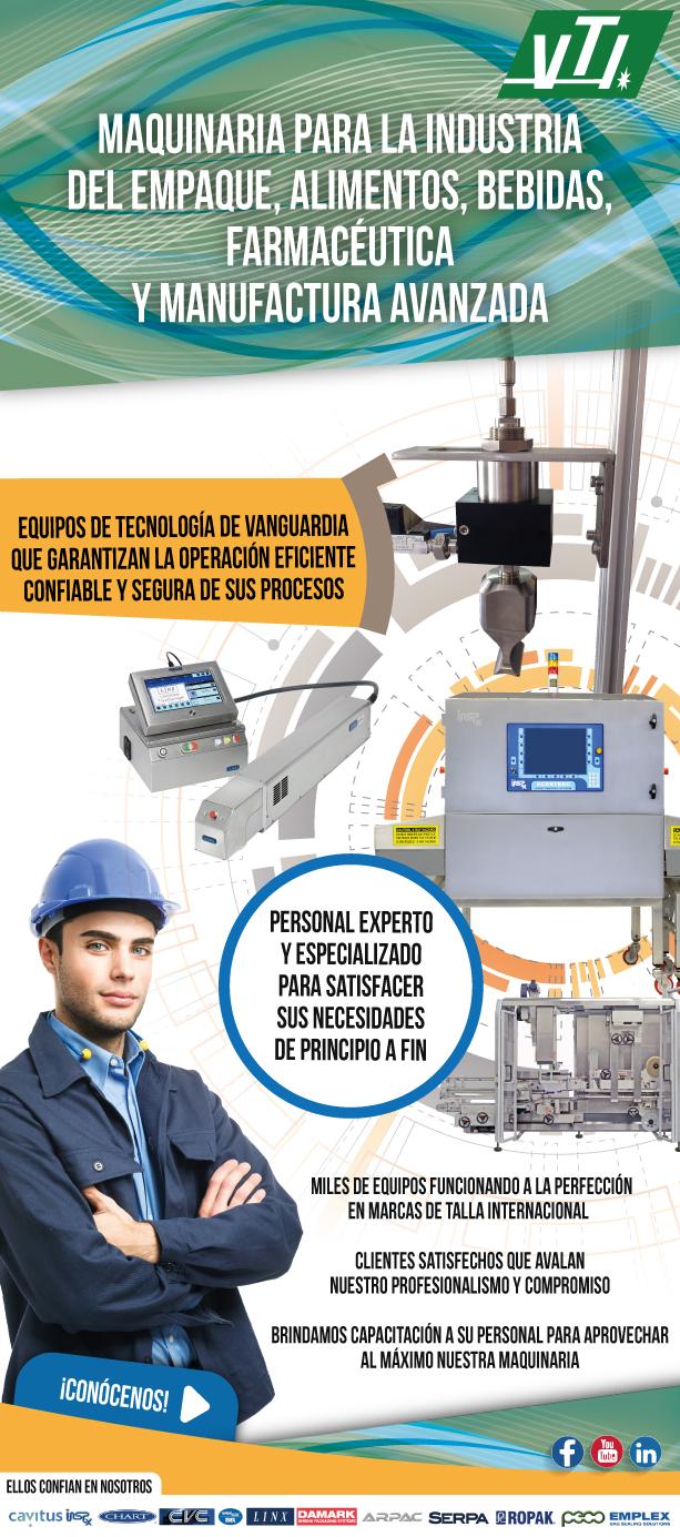 maquinaria para la industria del empaque