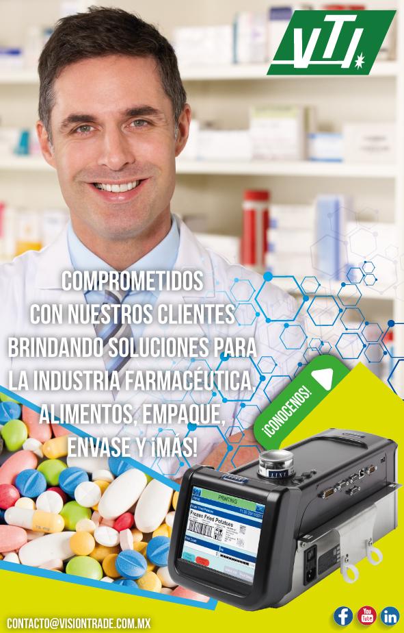 soluciones en la idnustria farmaceutica de bebidas, alimentos y más