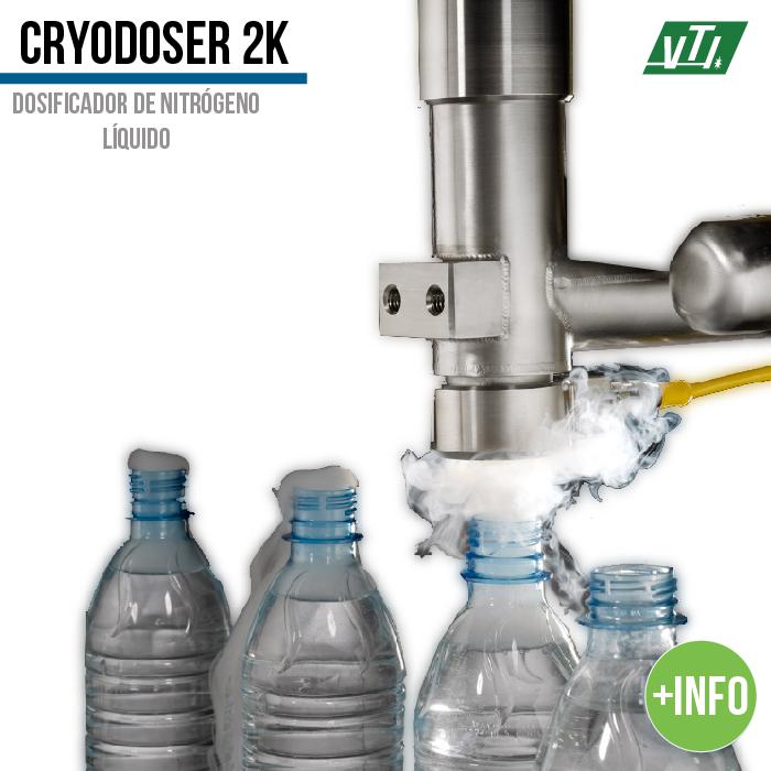 dosificador de nitrogeno liquido